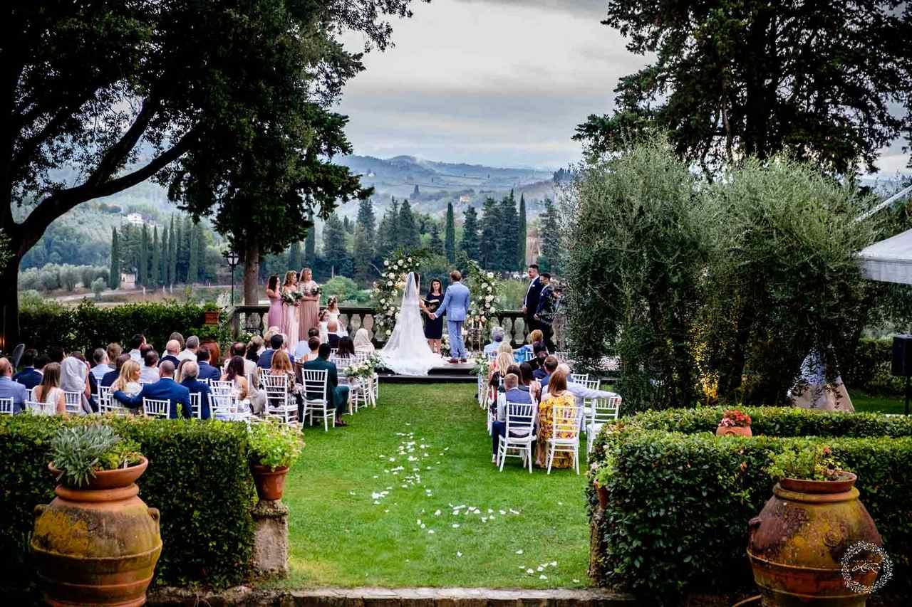 Matrimoni in Toscana Villa il Pozzo (Certaldo)
